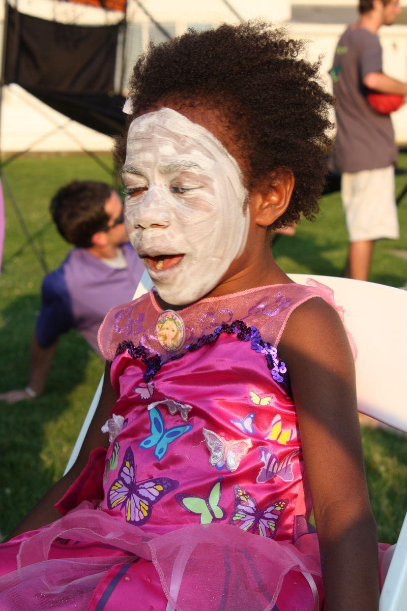 White faced fairy
