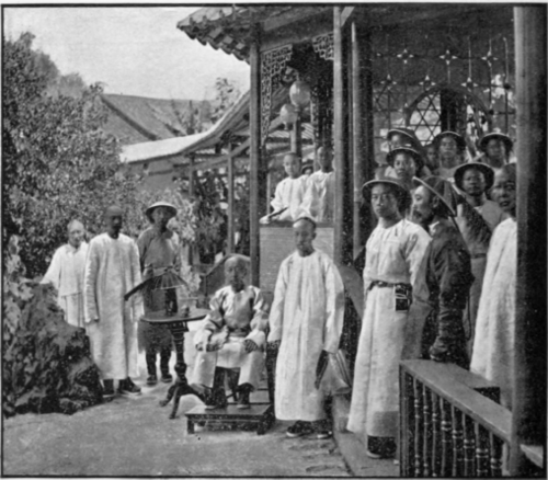 A-Chinese-General-And-His-Attendants