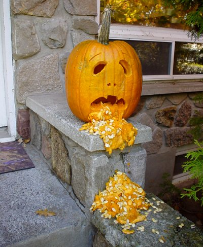 Vomitting-pumpkin
