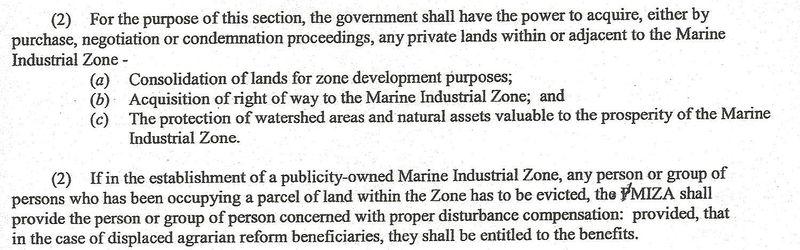 Excerpt PMIZ bill second half 011