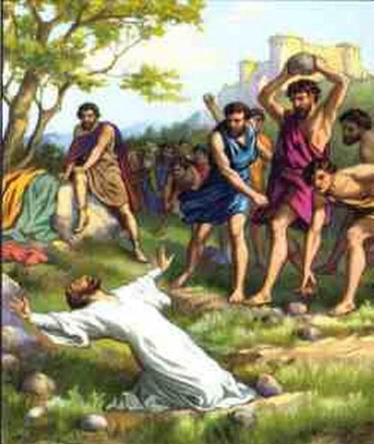 Stephen stoning