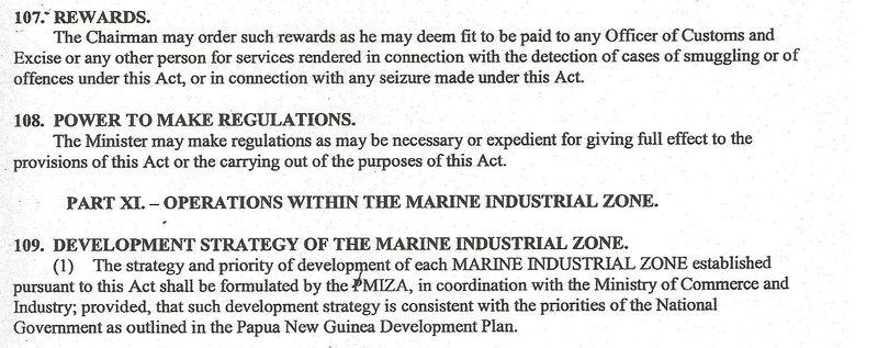 Excerpt PMIZ bill second half 009
