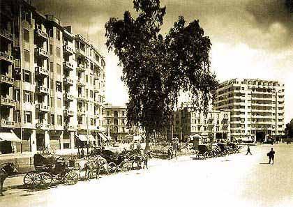 Tahrir sq early 1900s
