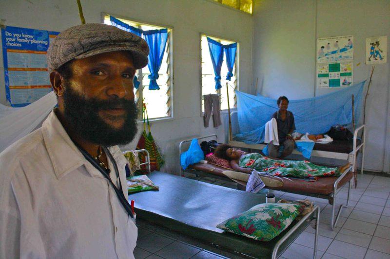 Gabriel Puak - Nursing officer, Saidor
