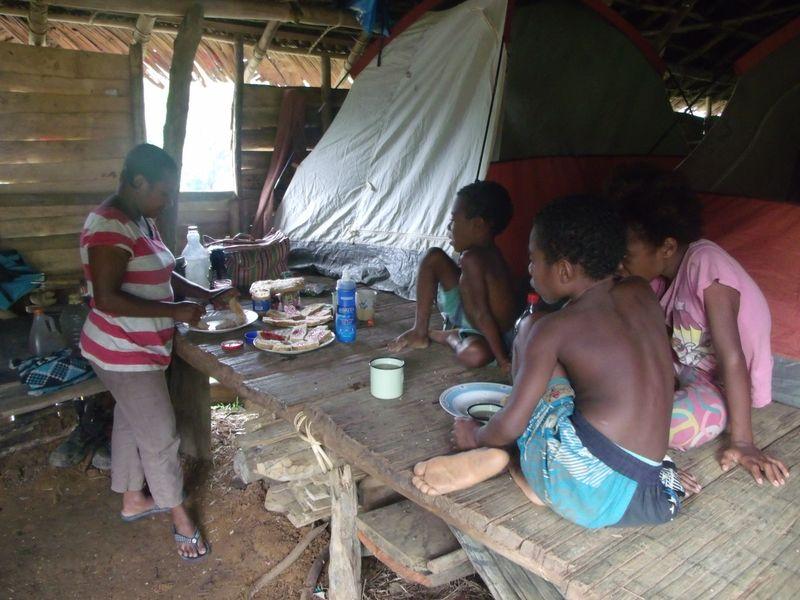 Breakfast in moinene