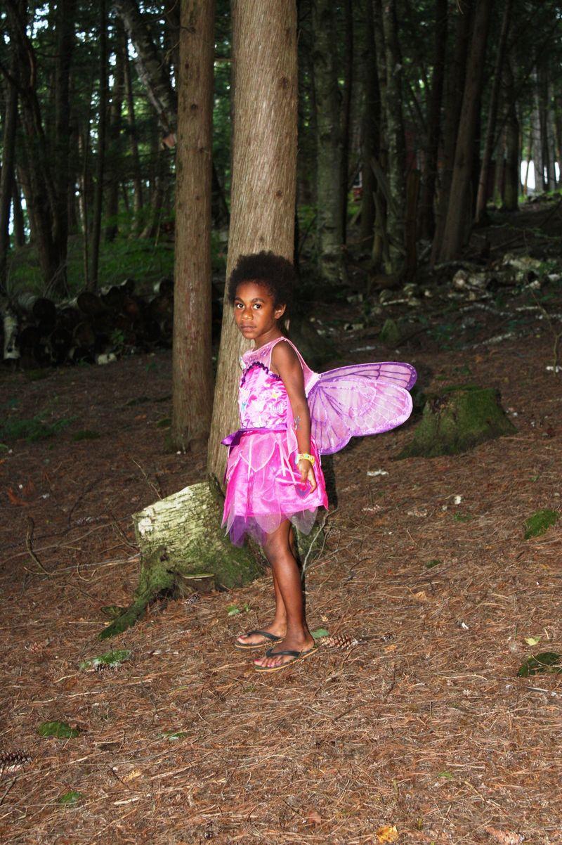 Fairy in bush