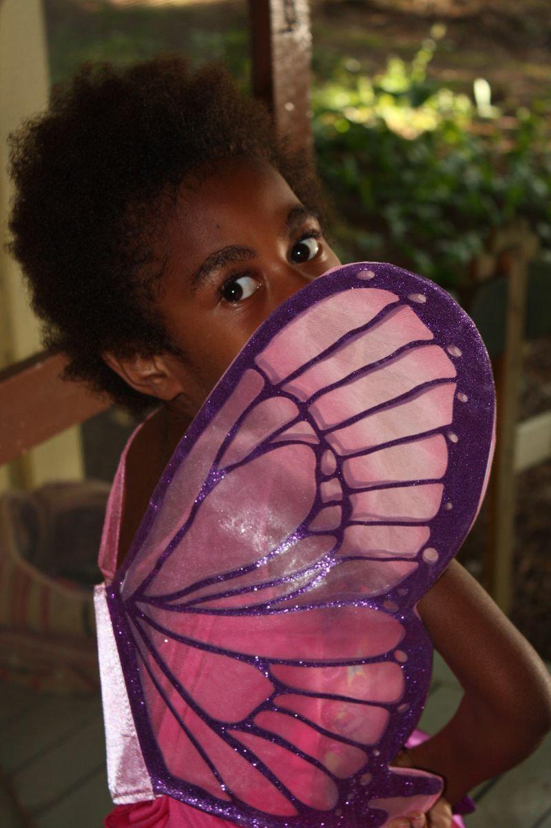 Over shoulder fairy