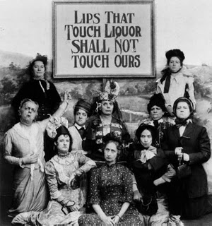 Prohibition and Kissing Lips