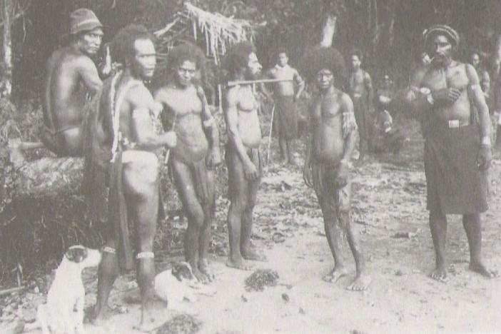 Manus men 1916